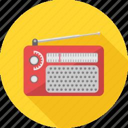 antenna, channel, communication, radio, signal icon