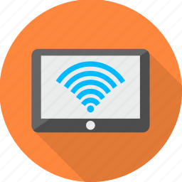 communication, computer, internet, laptop, wifi, wifi signal, wireless icon