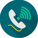call, call ringing, contact, phone, receiver, ringing, telephone icon