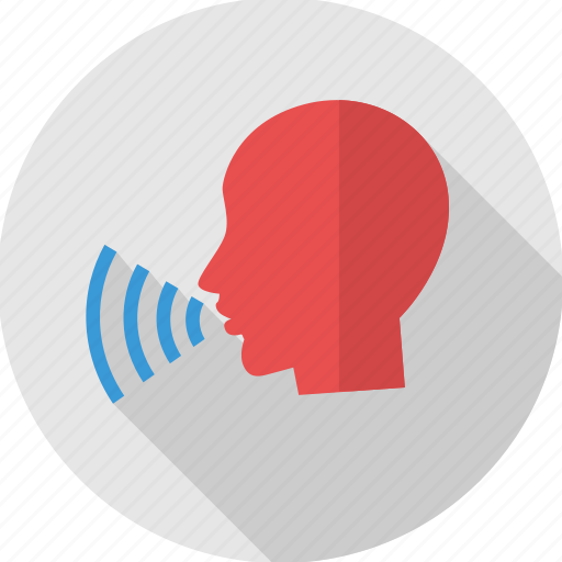 comment, human voice, say, speak, spokesman, talk, voice icon