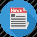 article, blog, media, news, newsletter, newspaper, press