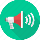 broadcast, communication, loud, music, sound, speaker, speakers icon