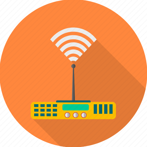 electronics, internet, modem, router, signal, wifi, wireless icon
