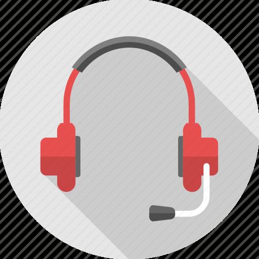 audio, earphone, headphone, headset, microphone, music, sound icon