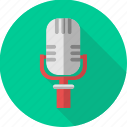 mic, microphone, mike, recorder, sound, voice icon