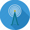 antenna, broadcast, communication tower, mast, radio, signal, tower icon