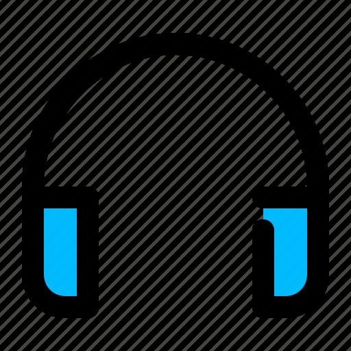 audio, earphones, gadget, headphone, music icon
