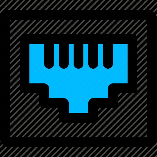 ethernet, internet socket, lan, lan port, port icon