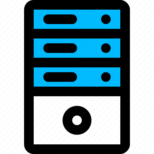 data server, file server, hosting server, server, storage icon