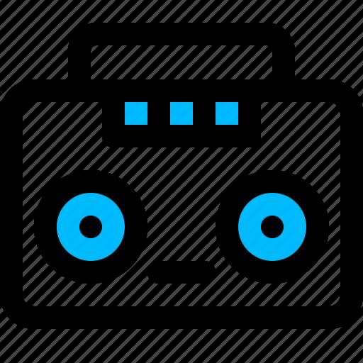 boombox, music, player, radio, stereo icon