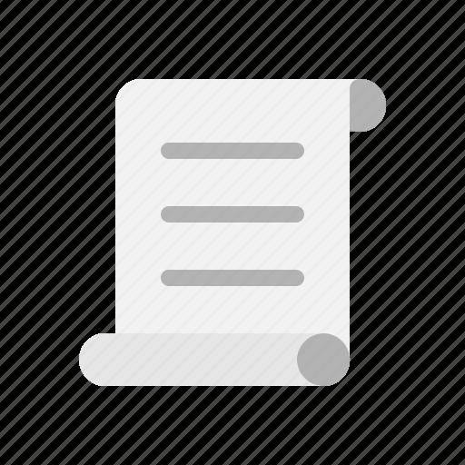 document, file, literature, script icon
