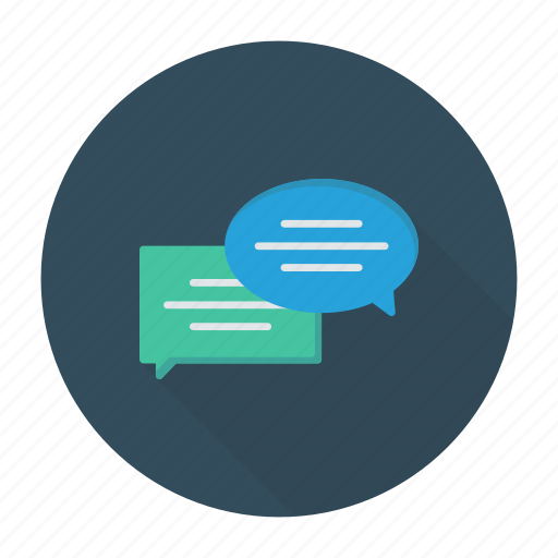 bubble, chat, conversation, discussion icon