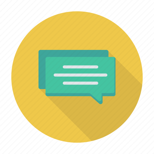 Bubble, chat, conversation, message icon - Download on Iconfinder