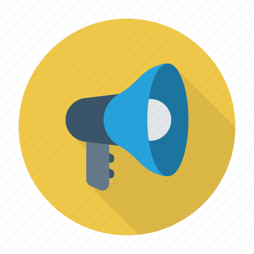 advertising, announcement, marketing, megaphone icon
