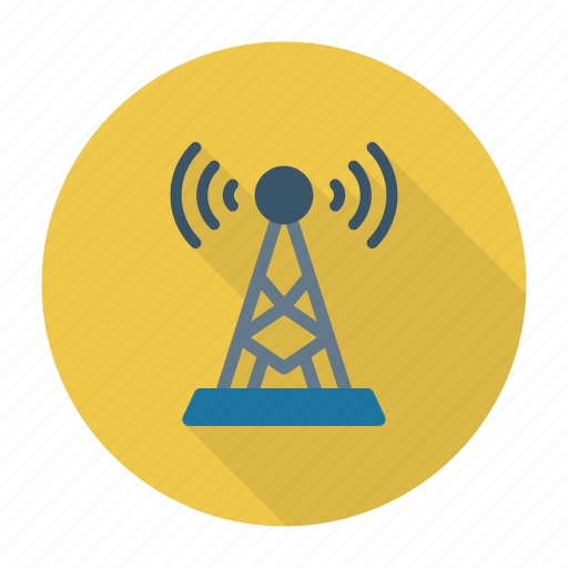 broadcast, signal, tower, transmitter icon