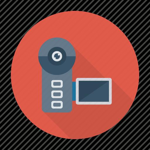 camcorder, camera, handycam, video icon