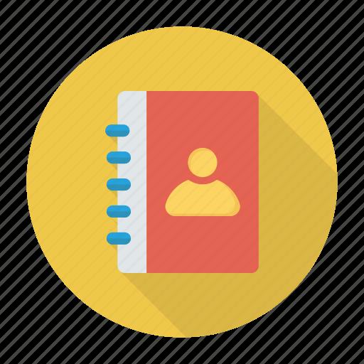adressbook, contacts, phonebook, profiles icon