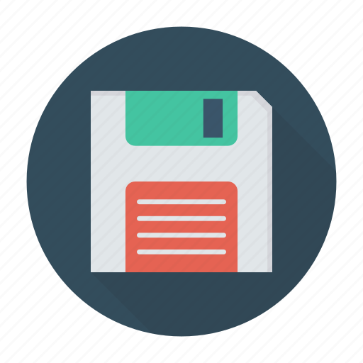 disk, drive, floppy, save icon