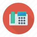 device, fax, landline, telephone icon