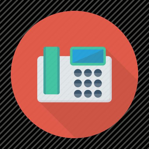 device, fax, landline, telephone icon