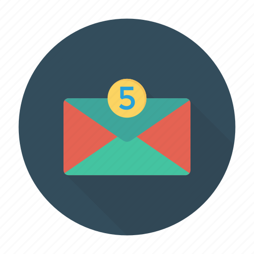 email, inbox, message, receive icon