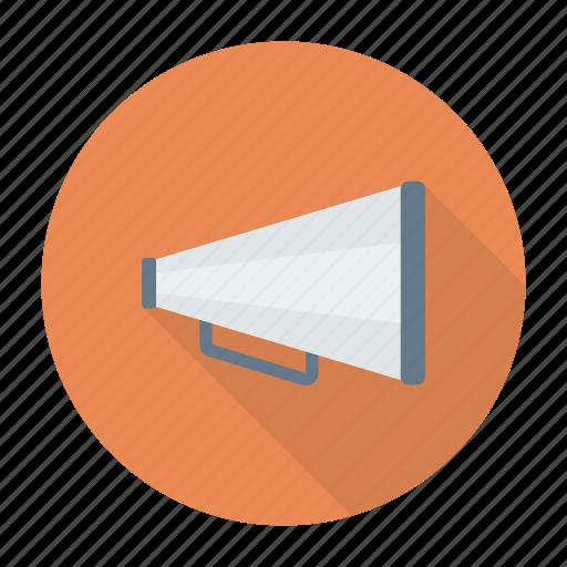 advertising, announcement, loudspeaker, megaphone icon