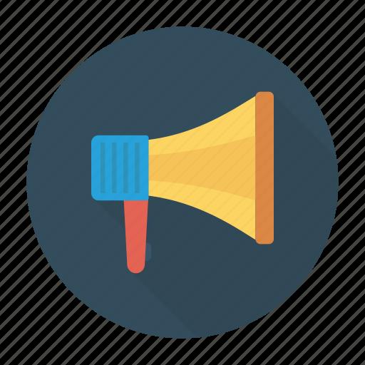 ads, announcement, megaphone, speaker icon