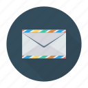 envelope, letter, messege, template icon