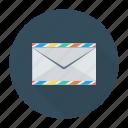 envelope, letter, messege, template