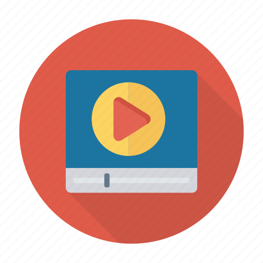 multimedia, play, player, video icon