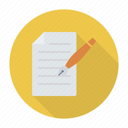 contract, create, document, newfile icon