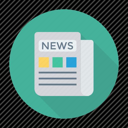 jobs, newspaper, press, reading icon