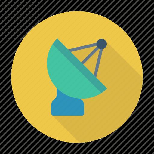broadcast, dish, satellite, technology icon