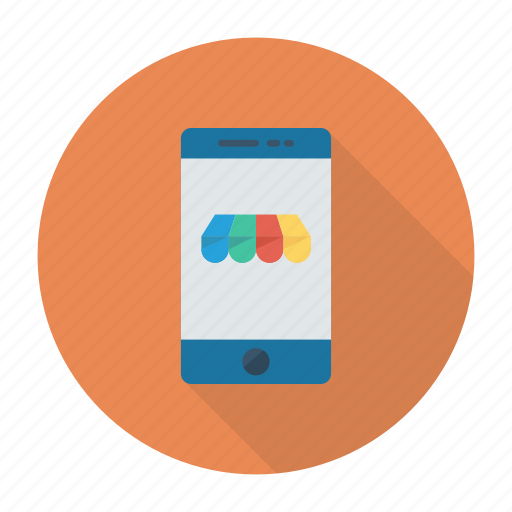 commerce, e, mobile, shop, store icon