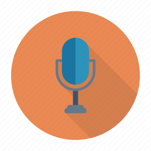 mic, mike, recording, speaker icon