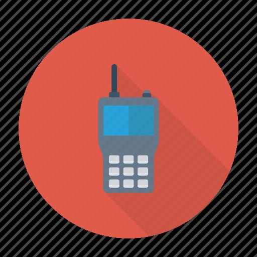 device, mobile, phone, talk icon
