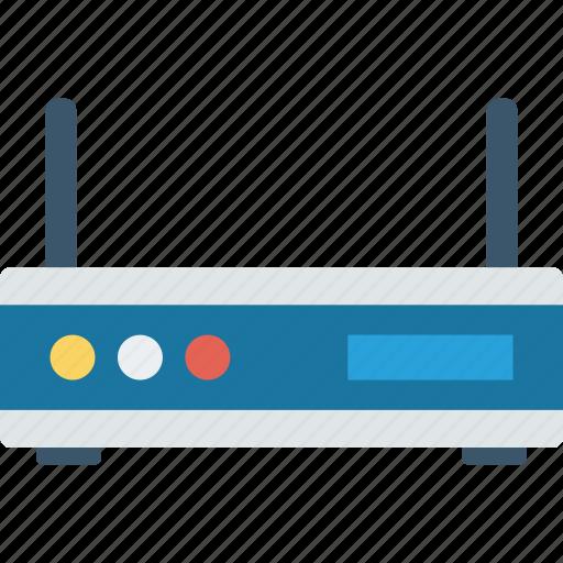 broadband, internet, modem, router icon
