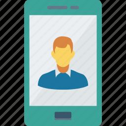 account, login, mobile, profile icon