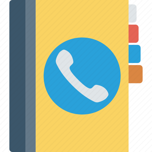 addressbook, contacts, diary, phonebook icon