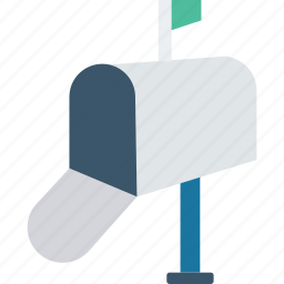 box, letter, mail, postoffice icon