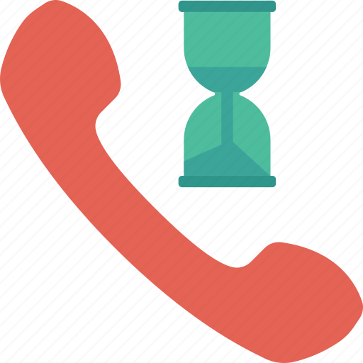 call, duration, talk, time icon