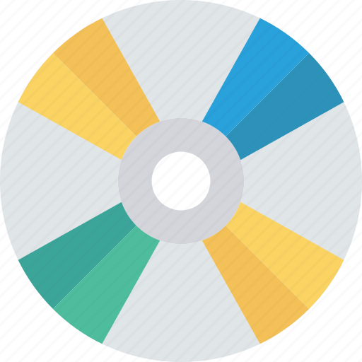cd, disc, dvd, software icon