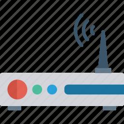 connection, internet, modem, router icon