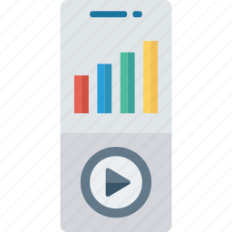 media, music, player, video icon