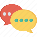 bubble, chat, conversation, message