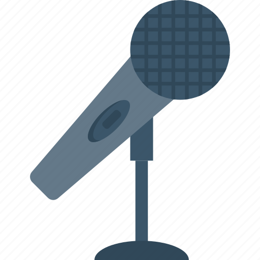 mic, microphone, mike, speech icon