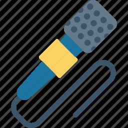 mic, microphone, speaker, speech icon