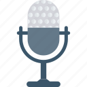 mic, recorder, speech, talk icon
