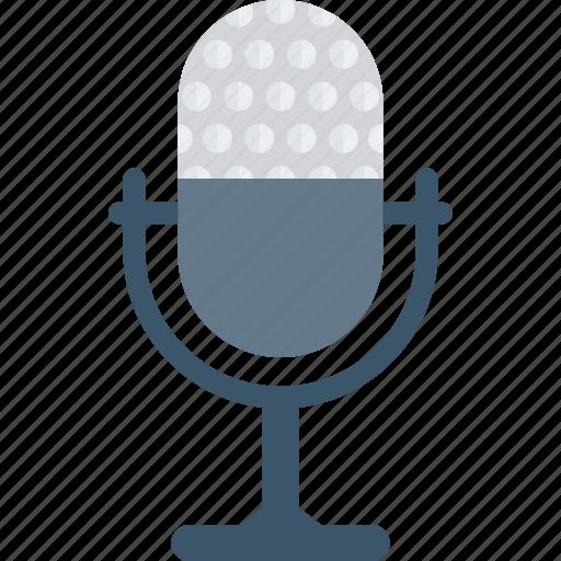 mic, recorder, speech, talk icon