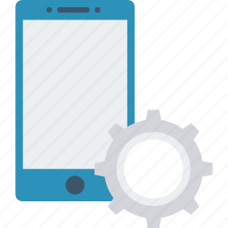 config, mobile, phone, setting icon